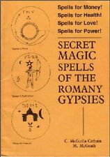 RARE- SECRET MAGIC SPELLS OF THE ROMANY GYPSIES -WITCHCRAFT RITUALS COVEN MAGICK