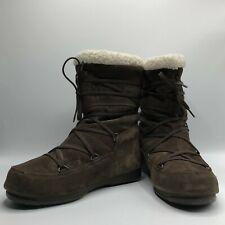 Vintage Tecnica Suede Moon Boots