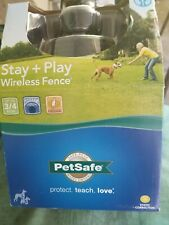 New listing PetSafe Stay and Play Pif00-12917 Wireless Fence Containment 1 Adjustable collar