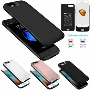 External Battery Case PowerBank Pack Charging Cover For iPhone6 6S 7 8Plus X XS