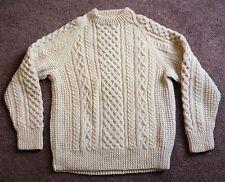 Vintage Kelly Knitwear IRISH Wool Knit Sweater Ireland Crewneck Womens Large ?