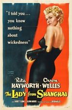 Lady From Shanghai The Movie Poster 24x36