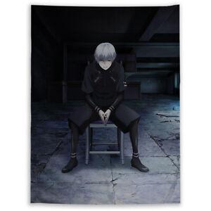 Tokyo Ghoul Kaneki Ken Wandteppich Kunst Wandbehang Bettdecke Poster
