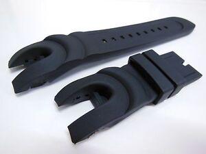 Watch Band Strap For Invicta Reserve Collection Venom - Rubber - Black NEW 6114
