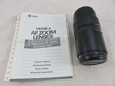 Yashica AF Zoom Camera Lens 70-210mm F4.5 Vintage Made In Japan