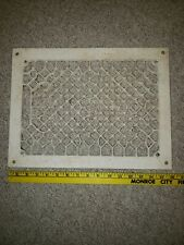 Vintage Grate Metal Vent Wall Cover Heat Floor Return Register 12 x 16 Classic