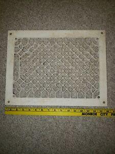 Vintage Grate Metal Vent Wall Cover Heat Floor Return Register 12 x 16 Classic