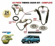 FOR HYUNDAI i800 2.5 DT CRDI  D4CB 2008-> NEW TIMING CHAIN KIT 16 PIECE COMPLETE