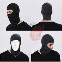 Men's Black Balaclava Ski Face Mask Motorcycle Cycling