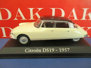 Die cast 1/43 Modellino Auto Citroen DS bicolore 1957
