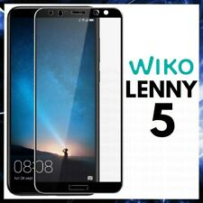 For WIKO LENNY 5 CURVED SCREEN PROTECTOR 9D FULL COVER GORILLA TEMPERED GLASS