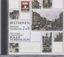 Beethoven: Symphonies 2 & 8 CD A28