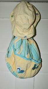 GYMBOREE Girl's Backpack with Matching Sun Hat Size L/XXL