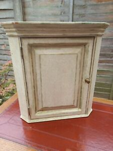 Vintage Upcycled Pine Shabby Chic Corner Unit/Display Cabinet Cupboard