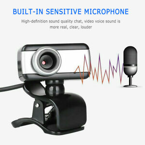 HD Zoom Webcam with Mic USB 2.0 Web Camera+Microphone For Desktop/Laptop/PC/Mac#