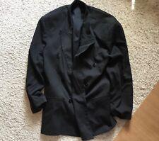 City Streets Men's Sport Coat Blazer Size 40 Black