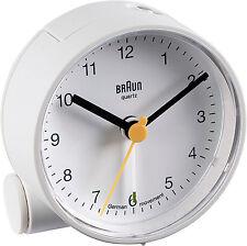Réveil Quartz BRAUN Blanc - Design DIETER RAMS - Alarme Crescendo - BNC001WHWH