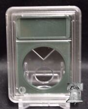 Premium Slab Coin Holder Silver Morgan Peace Eisenhower Dollar Case Green 38.1mm