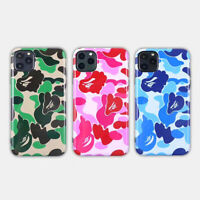 A BATHING APE BAPE ABC CAMO Glossy Cover Case For Apple iPhone 11 Pro Max XS XR