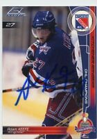 ADAM KEEFE KITCHENER RANGERS AUTOGRAPH AUTO 02-03 EXTREME SPORTS CARDS *33648