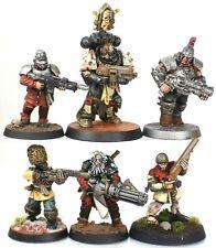 40k Necromunda Chaos Space Marines Cult Mutant Rabble Cultists Gang Custom Made