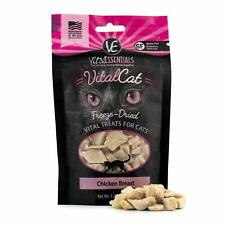 Vital Essentials Vital Cat Freeze-Dried Chicken Breast Treats for Cats 1 ounce