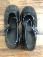 Dr Marten's Black Flats Size 6 Mary Jane N7