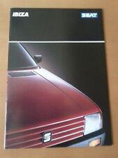 Seat Ibiza 06/1989, 26 Seiten