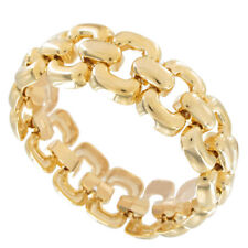 Classy Simple Gold Tone Chain Link Bracelet