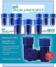9 x AQP-FCR 3 Aquaport Water Filter  Replacement Water Filter for FBOT3 Filttx