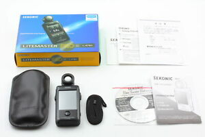 [Almost Unused Box] Sekonic L-478D Litemaster PRO Digital Light Meter from JAPAN