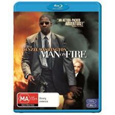 Man on Fire Blu-ray Region B Aust Post