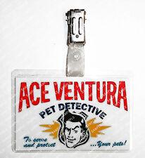 ACE Ventura acchìappanìmalì ID Distintivo Cosplay sostegni Costume FUMETTI con