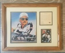 VINTAGE DALE EARNHARDT KELLY RUSSELL ACCOMPLISHMENT PLAQUE   YT30