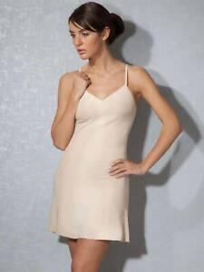 Doreanse Ladies Summer Undergarment Antistatic Petticoat Beige DA11127