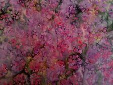 Quality Batik Fabric  -  Petals - 11.5 Metres X 110cm - Save $$$ Free Post !!