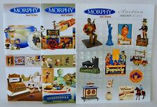 Morphy Auctions 3 Catalogs Toys Buck Rogers Coca-Cola Lunch BoxesBanks ++ 2010/1