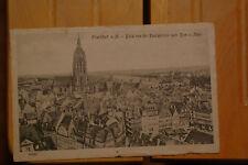 AK (1918 Feldpost) Frankfurt a.M. / Blick Pauluskirche nach Dom und Main (207)