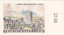1,50 S+30g,Wien Läd zu WIPA 1965,NORDEN, ungestempelt , O Zelleer,mit Gummierung