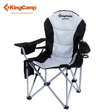 KingCamp Folding Chair Portable Camping Heavy-Duty Lumbar Support Stable Hot Sz