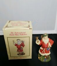 The International Santa Claus Collection Father Christmas England Figurine