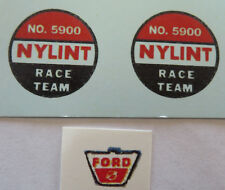 Nylint Race team water slide decal set