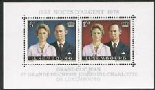 Luxembourg 1978. Silver Wedding. MS. MNH.