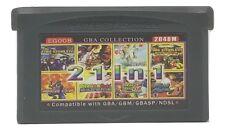 21 in 1 Multicart GBA Game Boy Advance w/ Case Fire Emblem Dragon Ball Z Shaman