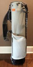 Stitch SL1 Golf Bag - Grey - Canvas/Suede/Leather - Brand New