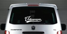 vw volkswagen camper transporter t2 t3 t4 t5 dub  vinyl sticker decal graphic