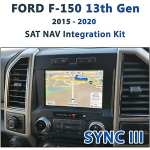 FORD F150 SYNC III - GPS NAV Integration kit / worldwide map covered