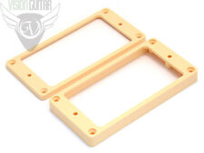 NEW! Epiphone Curved Tapered Humbucker Pickup Rings Set - Cream
