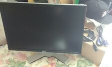 "Dell UltraSharp 2407WFP 24"" Widescreen LCD Monitor w/VGA & Power Cable USB Hub"