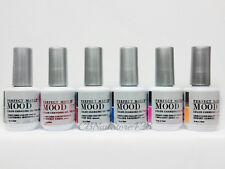Lechat Perfect Match Mood- Color Changing Gel Polish- Set of 6 Colors .5oz/15ml